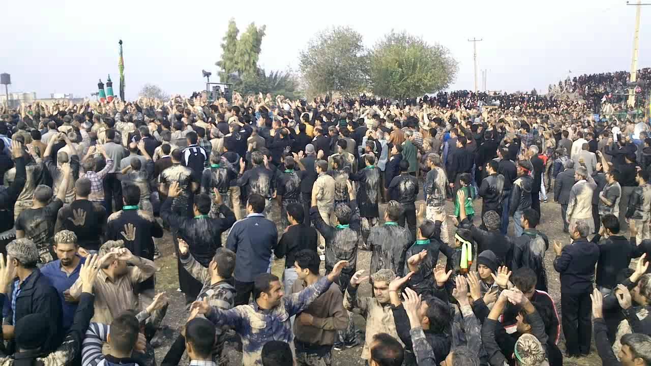 فیلم تجمع عظیم هیئات جنوب خرم آباد (ش2)، در روز عاشورا، 92.