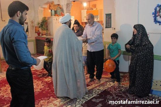 گزارش تصویری/دیدار با خانواده محترم شهید علی داوودی