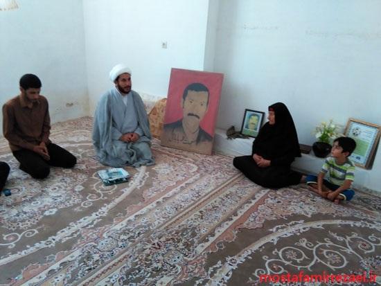 گزارش تصویری/دیدار با خانواده محترم شهید نعمت الله بابا بهاروند