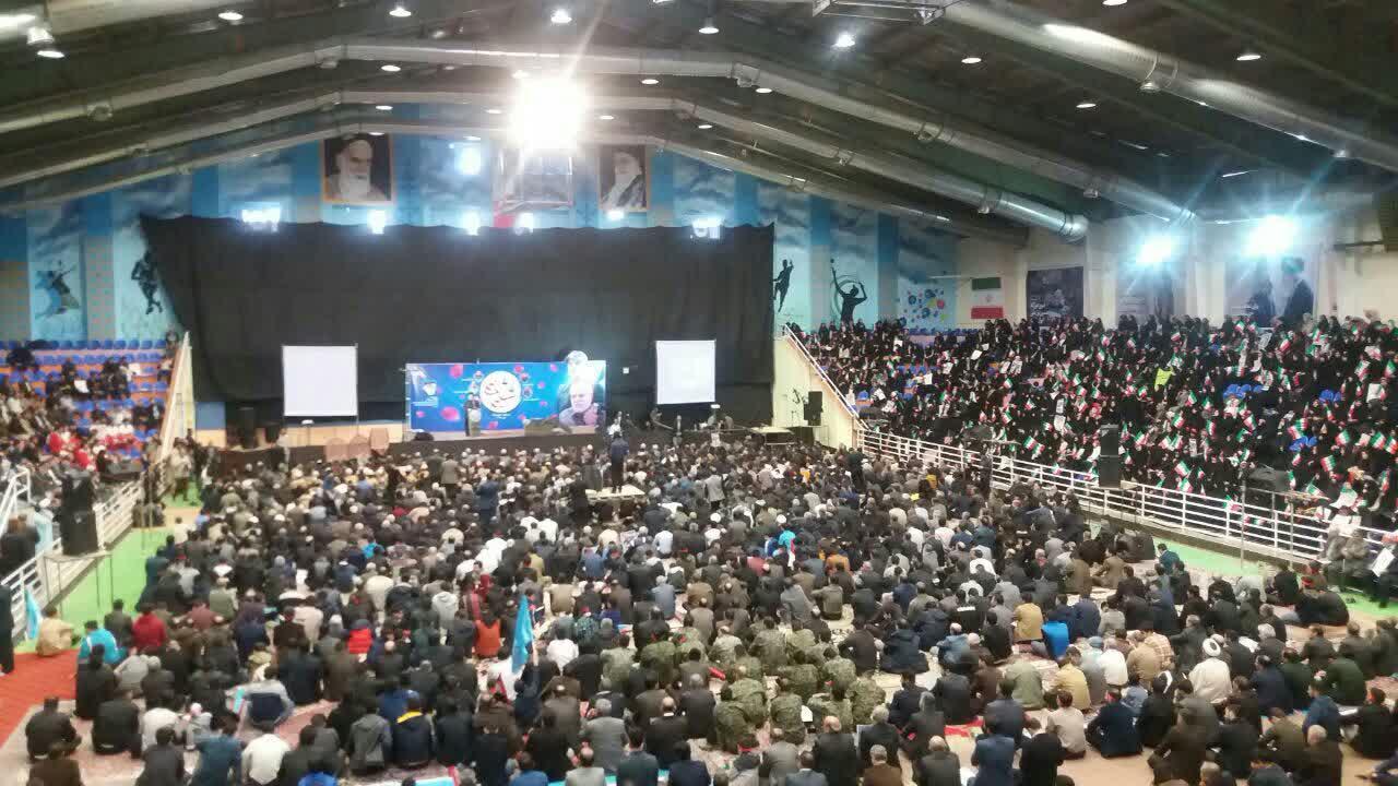 اجتماع بزرگ سلیمانی ها در ورزشگاه تختی خرم آباد